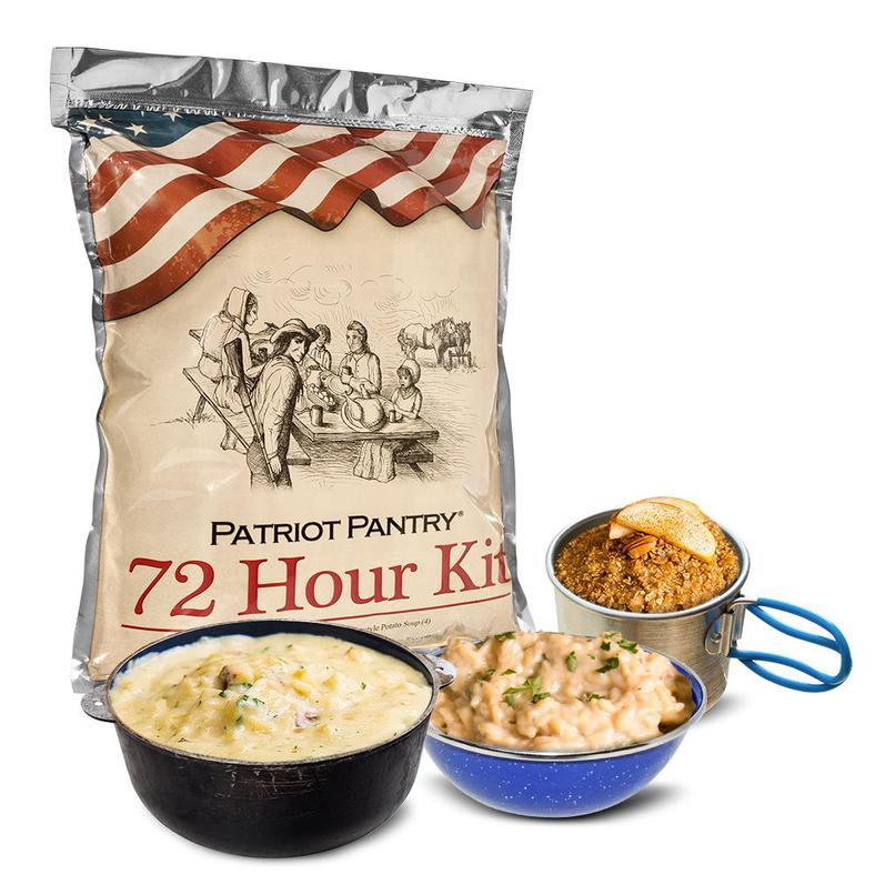 72 Hour Food Kit - Sample Pack